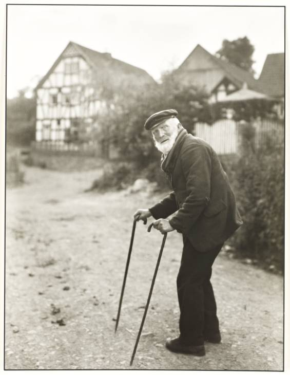 Old Farmer 1931/32 by August Sander 1876-1964