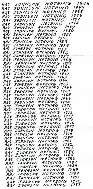 RayJohnsonNothing