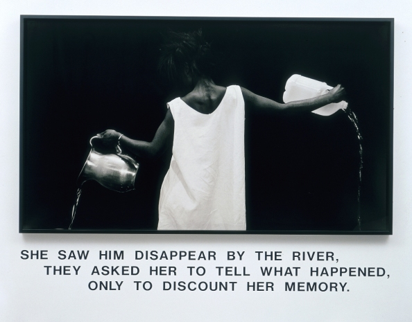 Lorna-Simpson-The-Waterbearer-1986