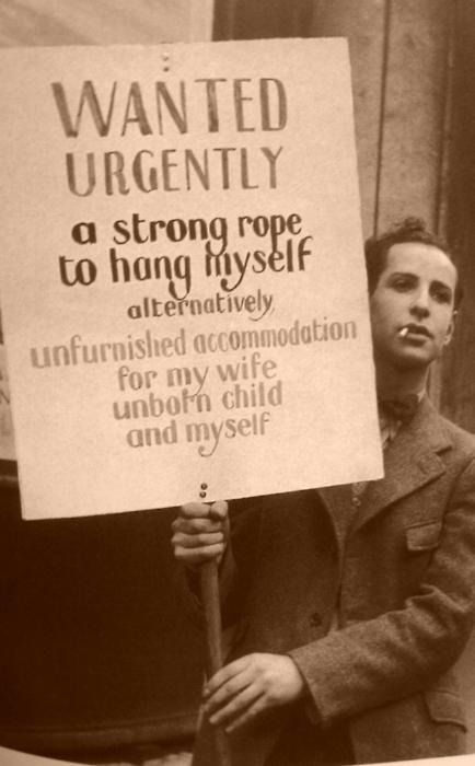 unknown man during the great depression c. 1932